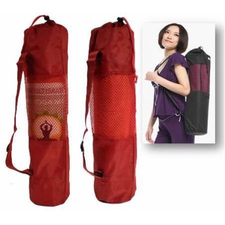 Bolsa para Esterillas de Yoga con Ventilacion Color Roja