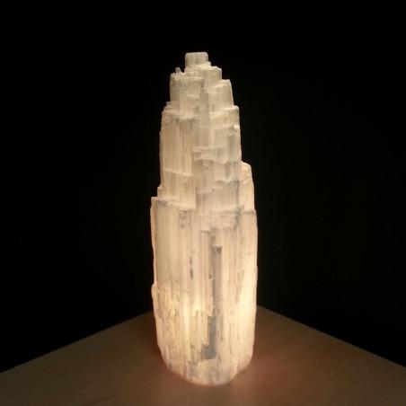 Lámpara de Selenita 1,5 - 2 kg