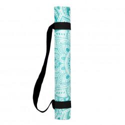 Commuter Mat – Mandala Turquoise