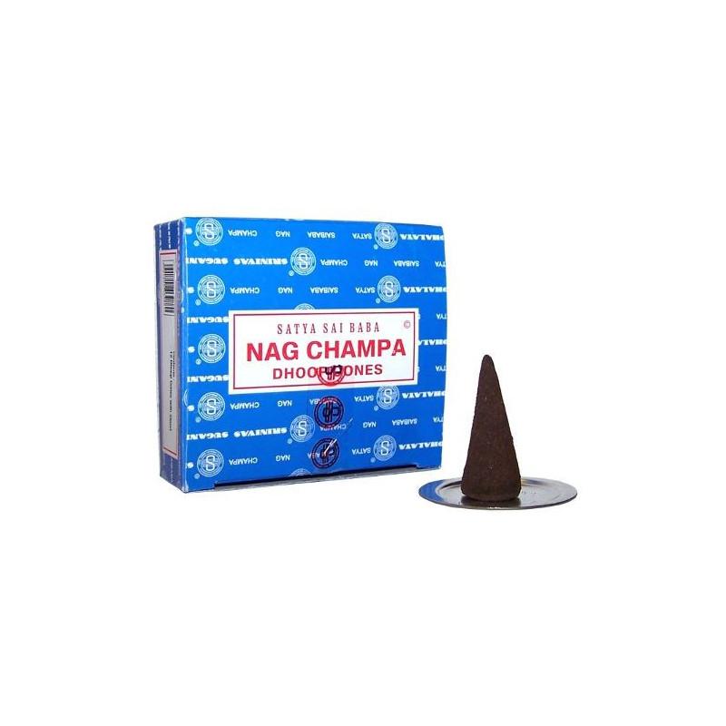 Conos de Incienso Nag Champa