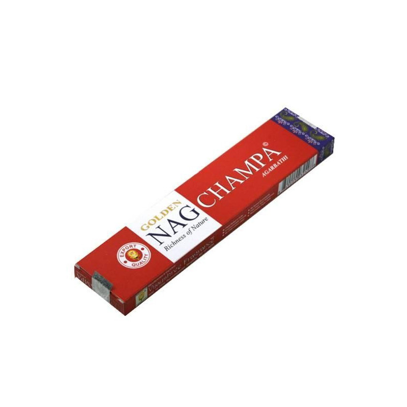 Incienso Golden Nag Champa 15 gr