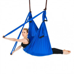 Yoga swing/hamaca de yoga - azul