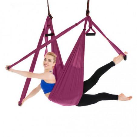 Yoga swing/hamaca de yoga - púrpura