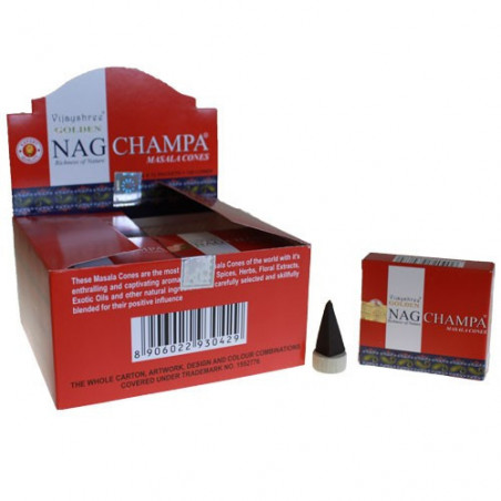 Incienso Golden Nag Champa Conos