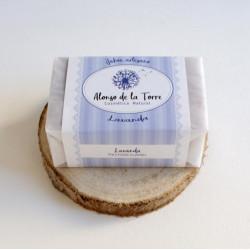 Jabón artesano de lavanda