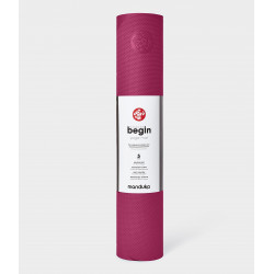 begin yoga mat - Dark Pink