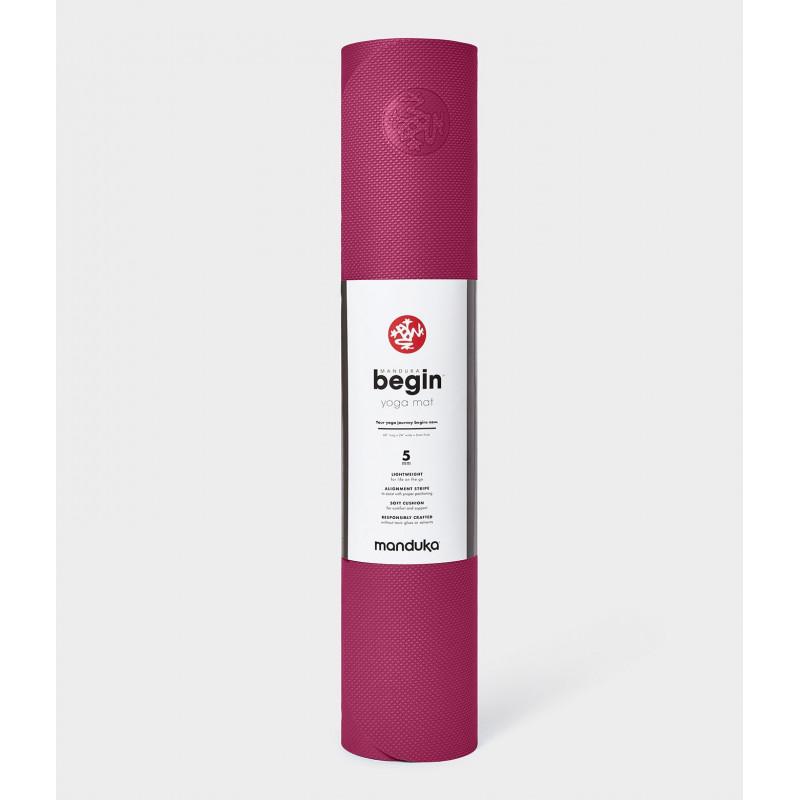 begin yoga mat - Dark Pink