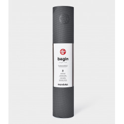 begin yoga mat - Steel Grey