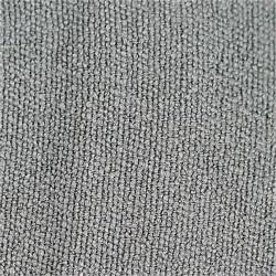 Toalla Yoga Antideslizante Gris - silicona