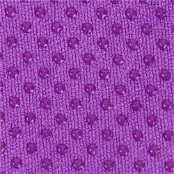 Toalla Yoga Antideslizante Violeta - silicona