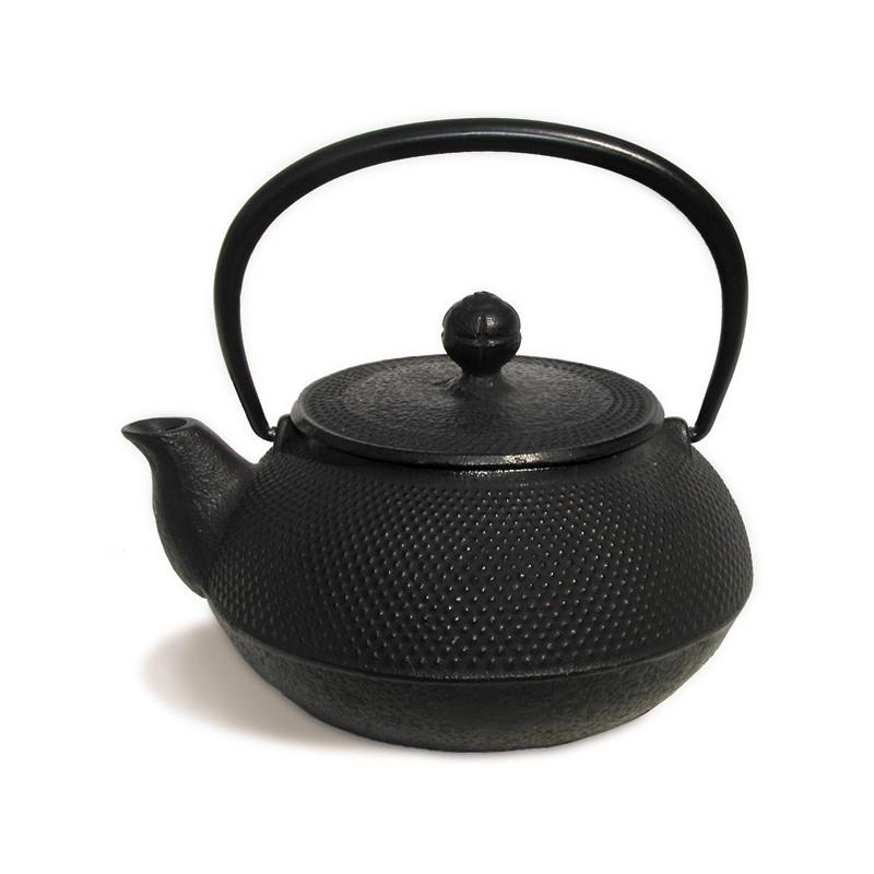 Tetera Iwachu Arare negra 600 ml