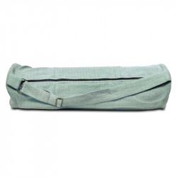 Bolsa de yoga de algodón verde