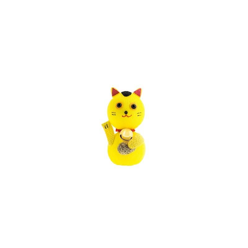 Maneki Neko, Gato de la Suerte Tentetieso - Amarillo