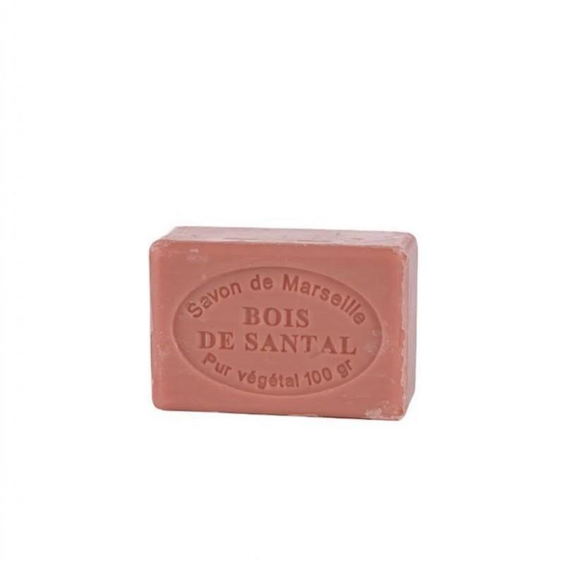 Jabón Vegetal de Sándalo 100g.- Marsella -.