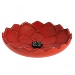 Incensario Iwachu Flor de Loto Rojo