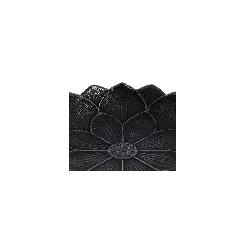 Incensario Iwachu Flor de Loto Negra