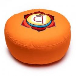 Zafu Cojín para Meditación 2º Chakra,  Swadhishthana