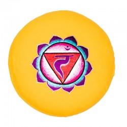 Zafu/Cojín para Meditación 3er Chakra, Manipura