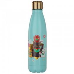 Botella Térmica de Acero Inoxidable - Gato de la Suerte Maneki Neko - 500ml