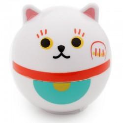 Bálsamo Labial con Forma - Gato de la Suerte Maneki Neko y Muñeco Daruma Japonés