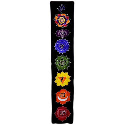 Banner vertical Chakra - Medianoche