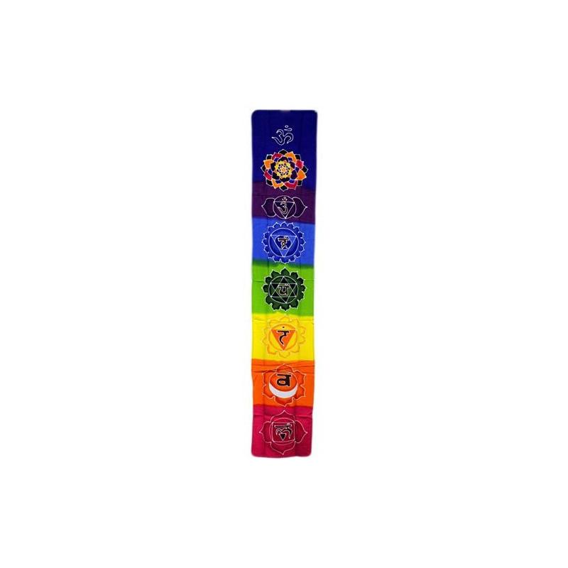 Banner vertical Chakra - Arco iris
