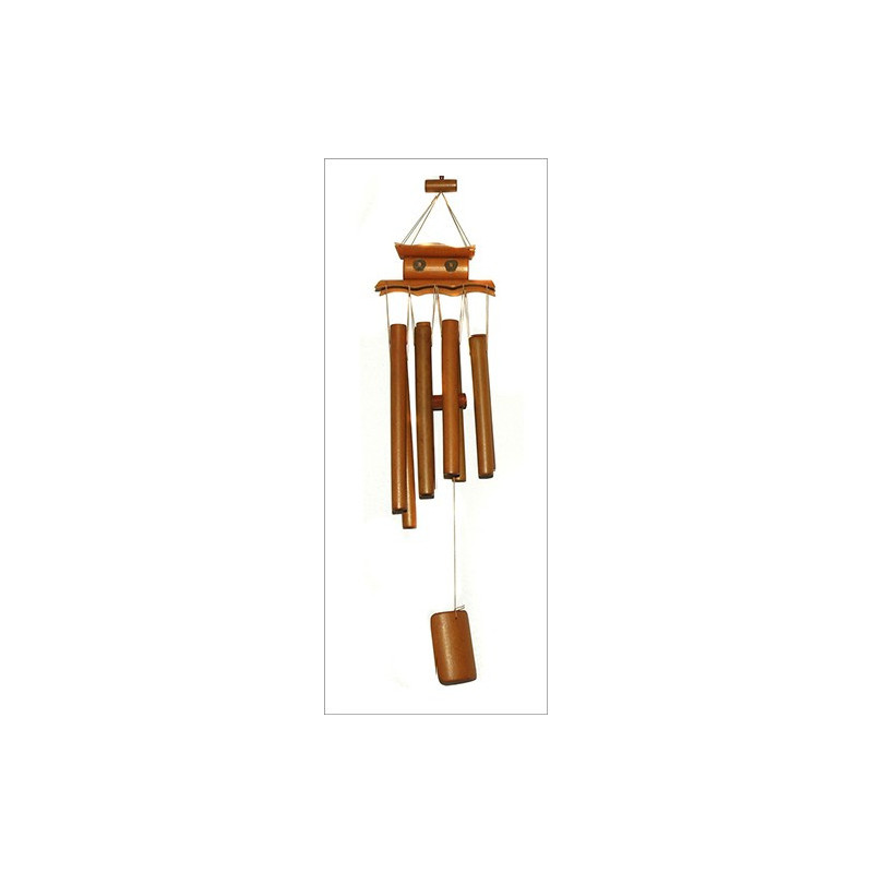 Móvil Redondo de Bambú