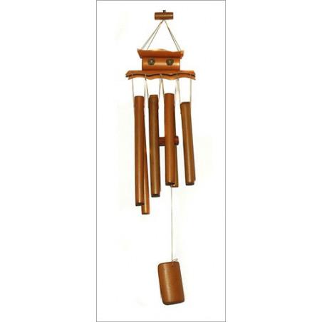 Móvil Sinfónico de Bambú 8 tubos