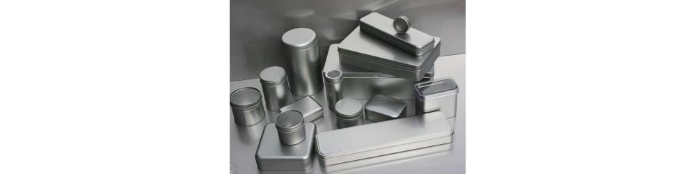 Cajitas de Metal para Té